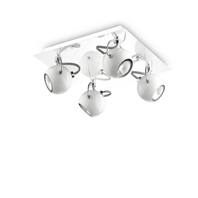 Ceiling lamp LUNARE PL4 Cromo