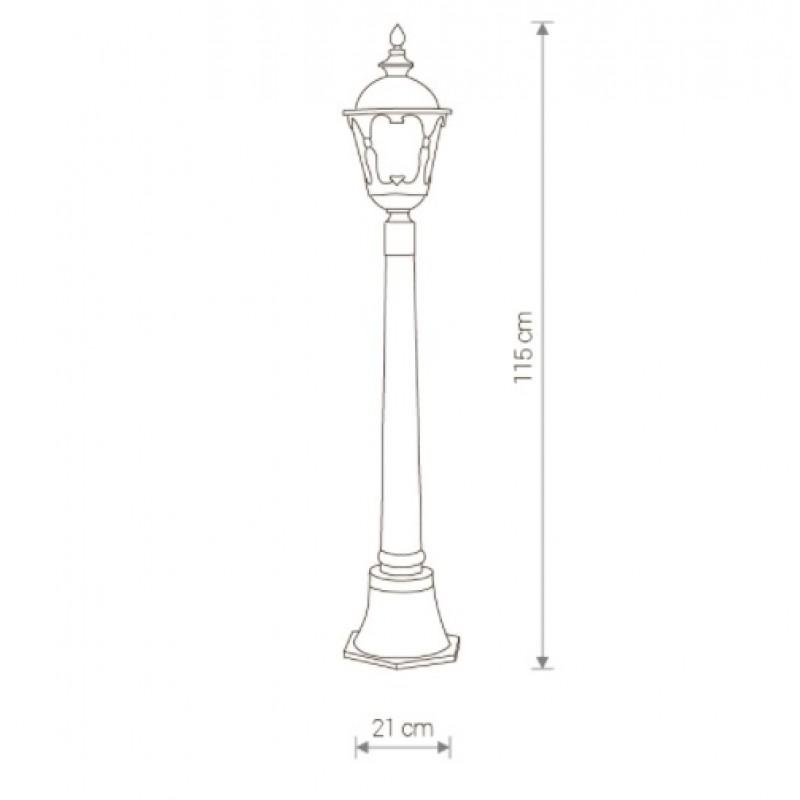 Garden lamp Tybr 4685