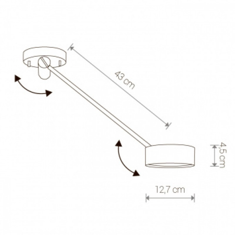 Ceiling lamp Cyclon Led 8892
