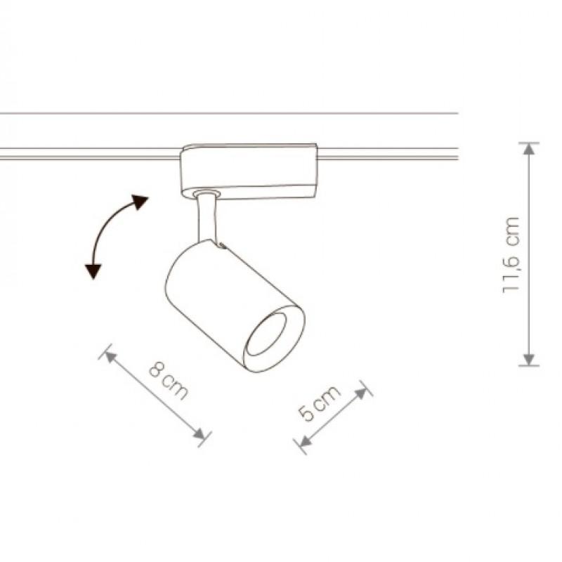 Track light Profile Iris 8995