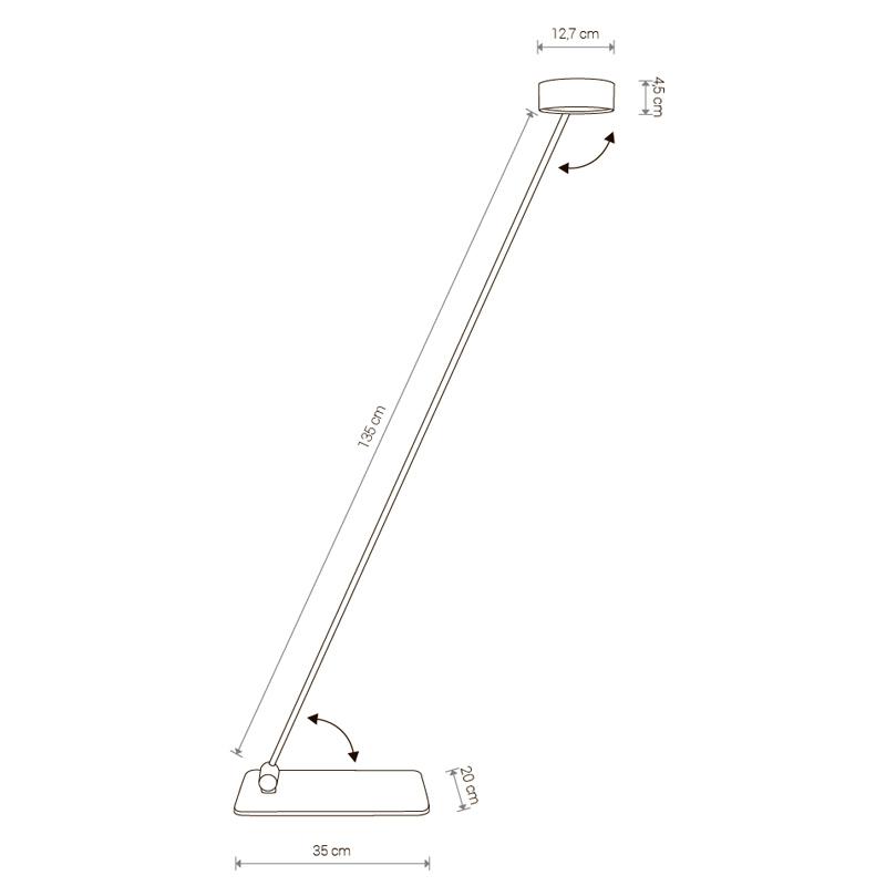 Table lamp Cyclon Led 8890