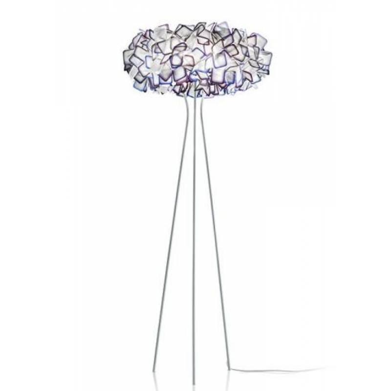 Floor lamp CLIZIA Purple
