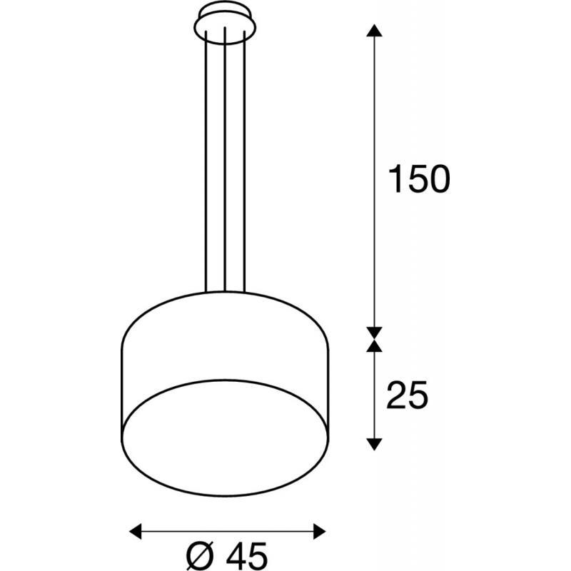 Pendant lamp LASSON Ø 45 см