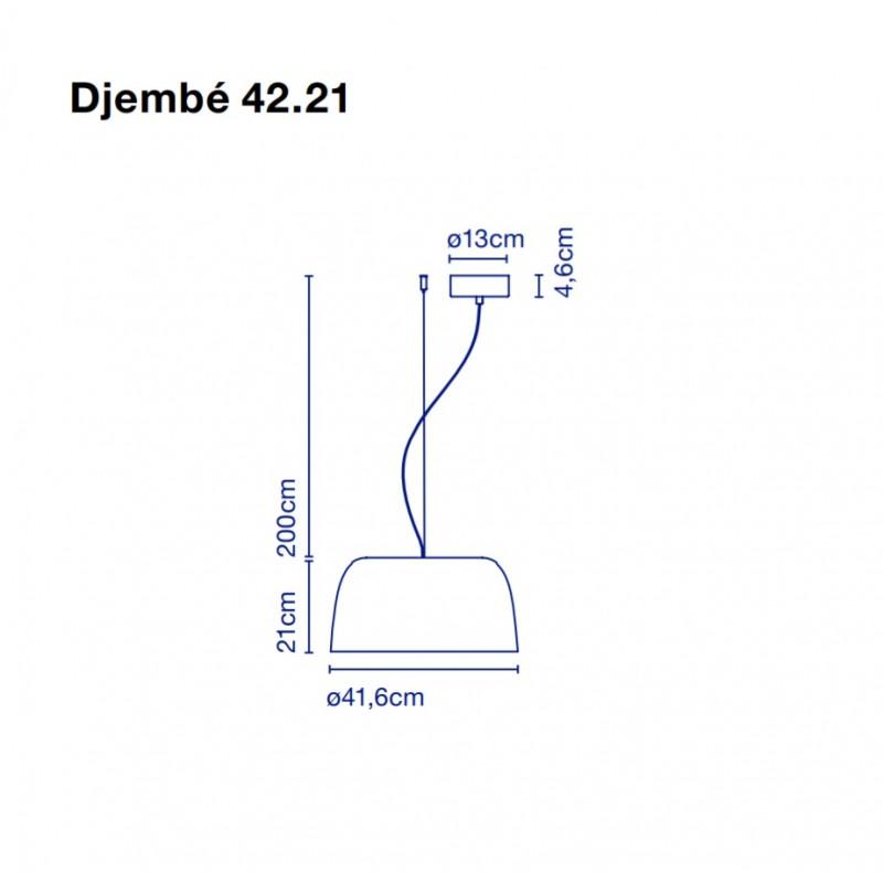Pendant lamp DJEMBE 42.21