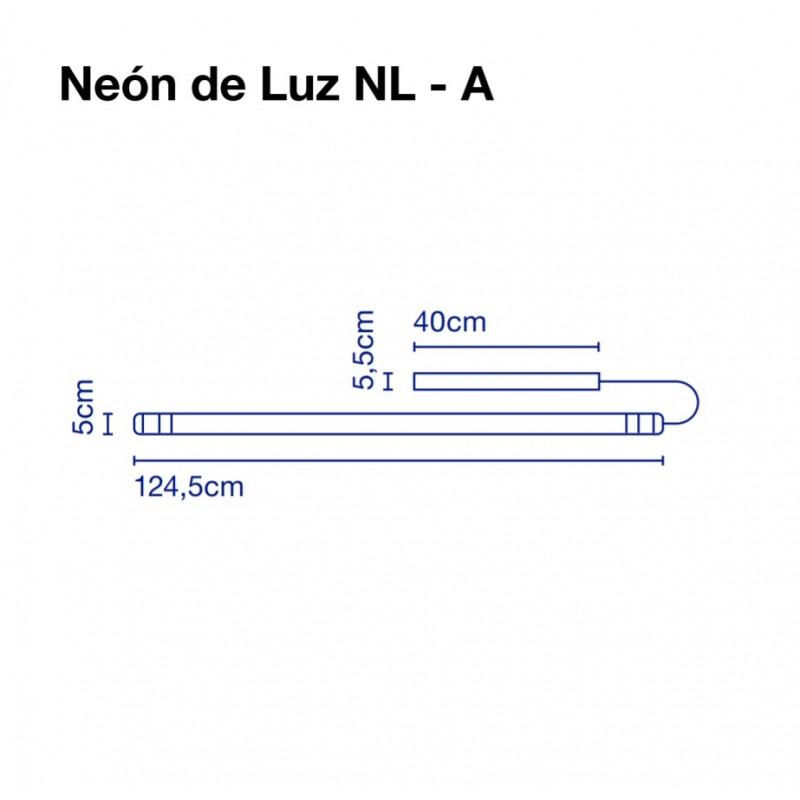 Wall lamp NEON DE LUZ 124 cm
