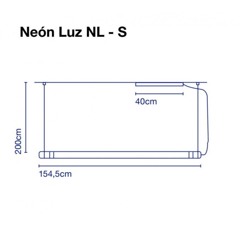 Pendant lamp NEON DE LUZ 154 cm