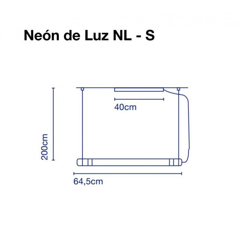 Pendant lamp NEON DE LUZ 64 cm