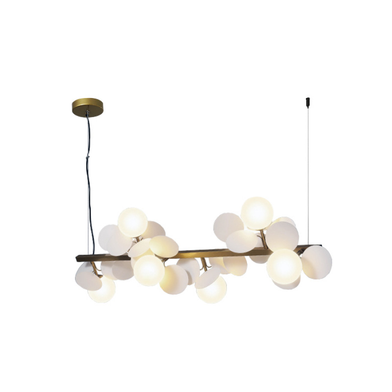 Pendant lamp Magnolia S6 WH