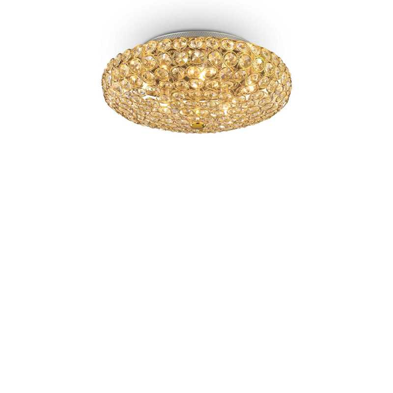 Ceiling lamp KING PL5 Gold