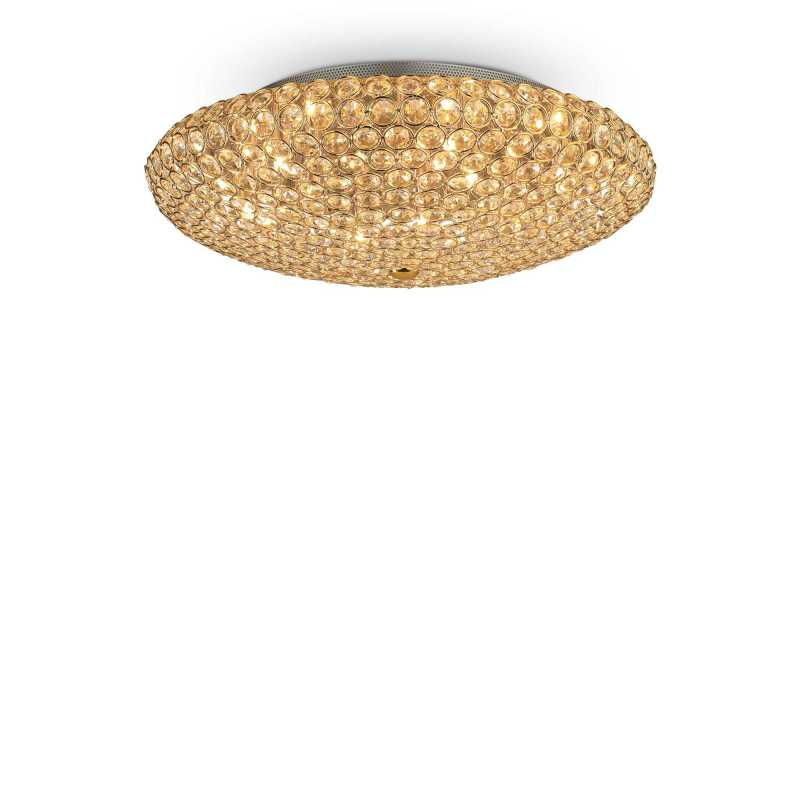 Ceiling lamp KING PL9 Gold