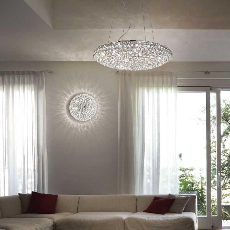 Ceiling lamp KING PL3 Chrome
