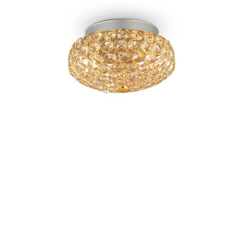 Ceiling lamp KING PL3 Gold