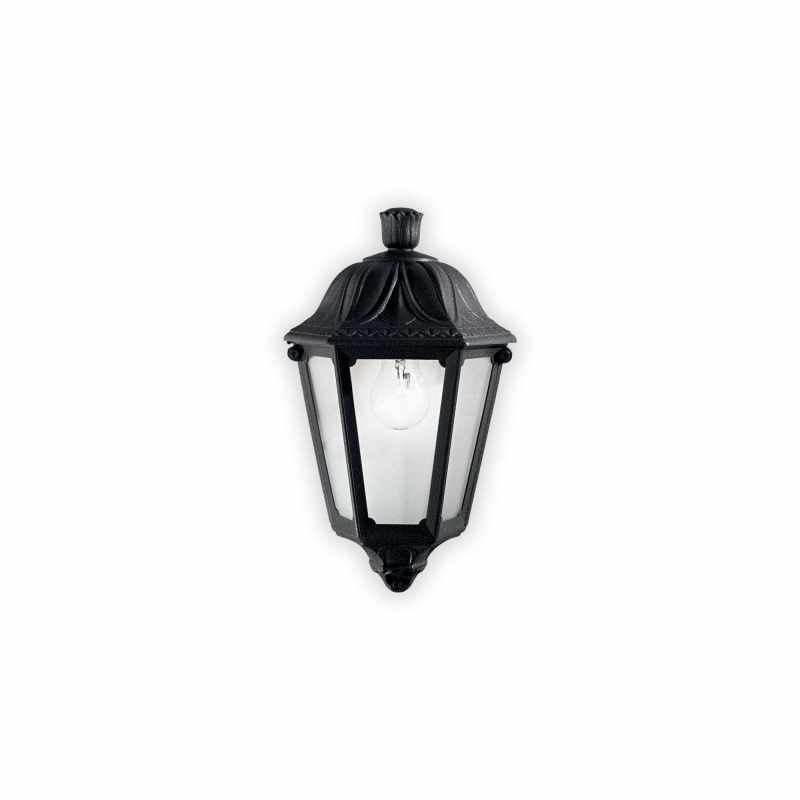 Ceiling - wall lamp ANNA AP1 Small Black