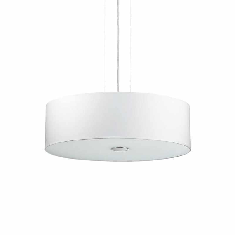 Pendant lamp- WOODY SP5 Wood Ø 60 см White
