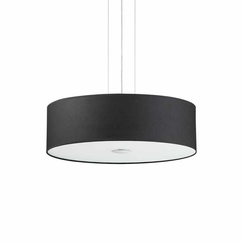 Pendant lamp- WOODY SP5 Wood Ø 60 см Black