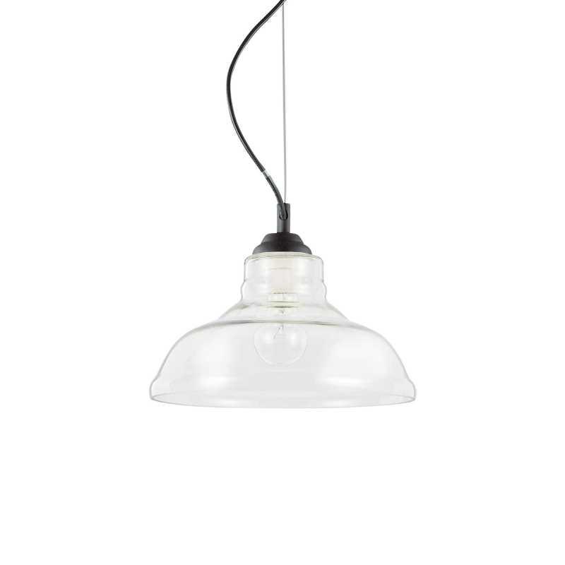 Pendant lamp - BISTRO SP1 PLATE Ø 28 cm Trasparen...