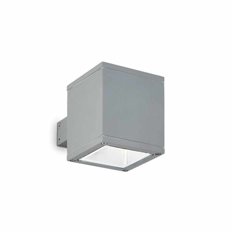Ceiling-wall lamp SNIF SQUARE AP1 Grey