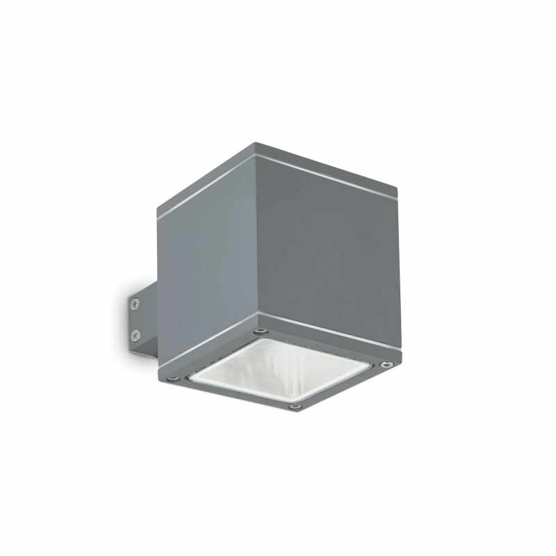Ceiling-wall lamp SNIF SQUARE AP1 Anthracite