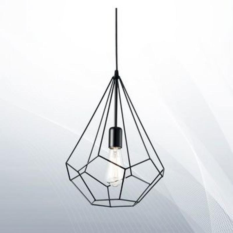 Pendant lamp AMPOLLA-3 SP1 Black