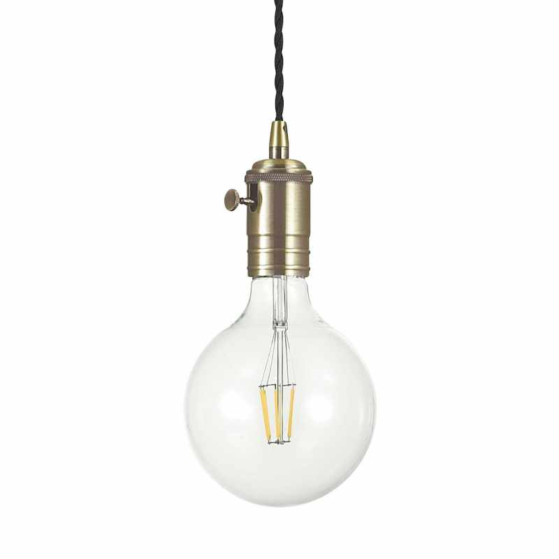 Pendant lamp - DOC SP1 Ø 10 cm Brunito