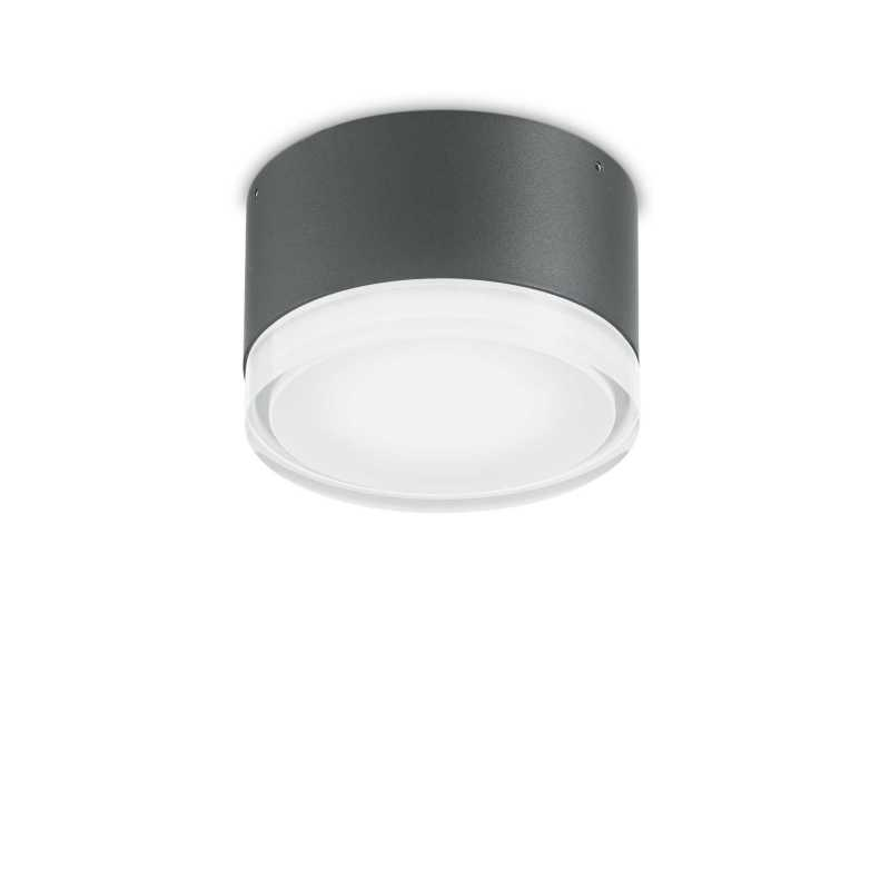 Wall lamp URANO PL1 Small Anthracite