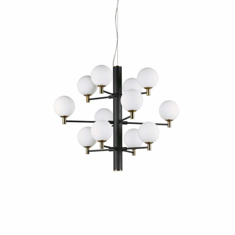 Pendant lamp COPERNICO SP12 Black