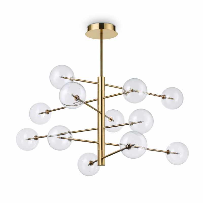 Pendant lamp EQUINOXE SP12 Gold