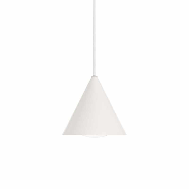 Pendant lamp - A-LINE SP1 Ø 13 сm White