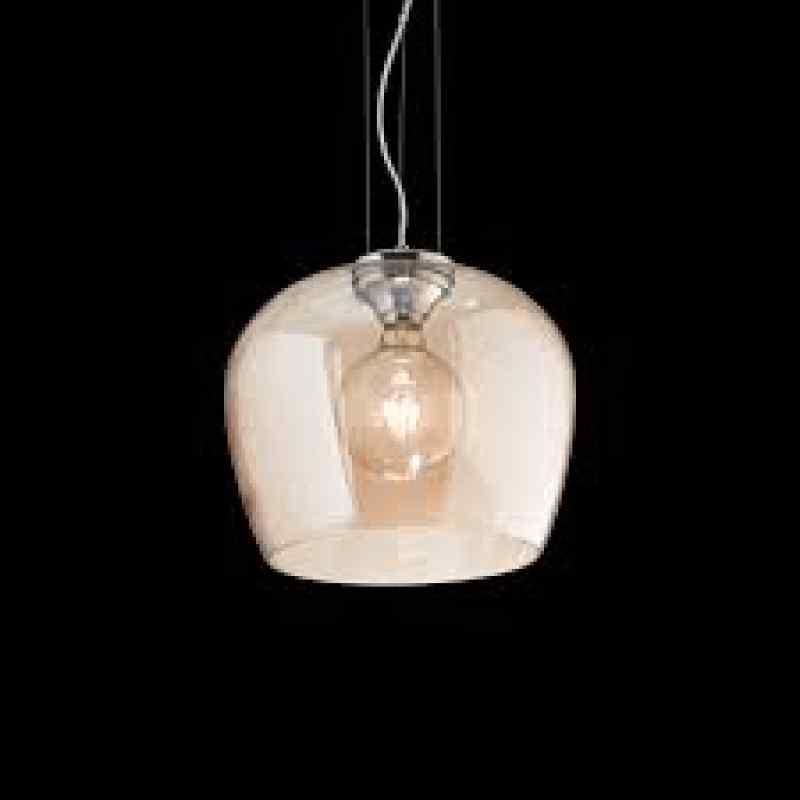 Pendant lamp - BLOSSOM SP1 Ø 32 сm Ambra