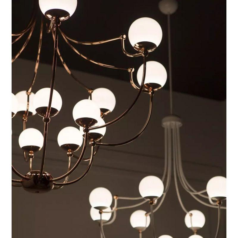 Ceiling lamp Dots 24-Light Pendant