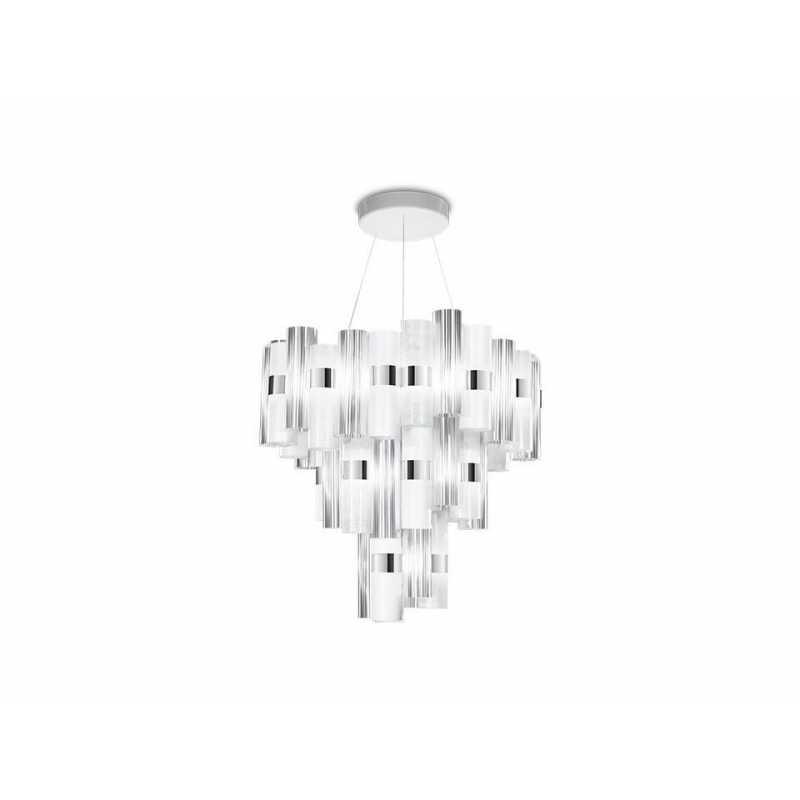 Pendant lamp LA LOLLO XL Ø 80 cm WH