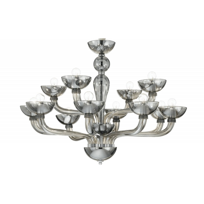 Chandelier CASANOVA SP12 Grey