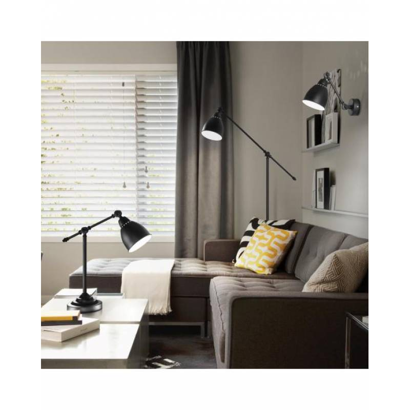 Floor lamp NEWTON PT1 Black