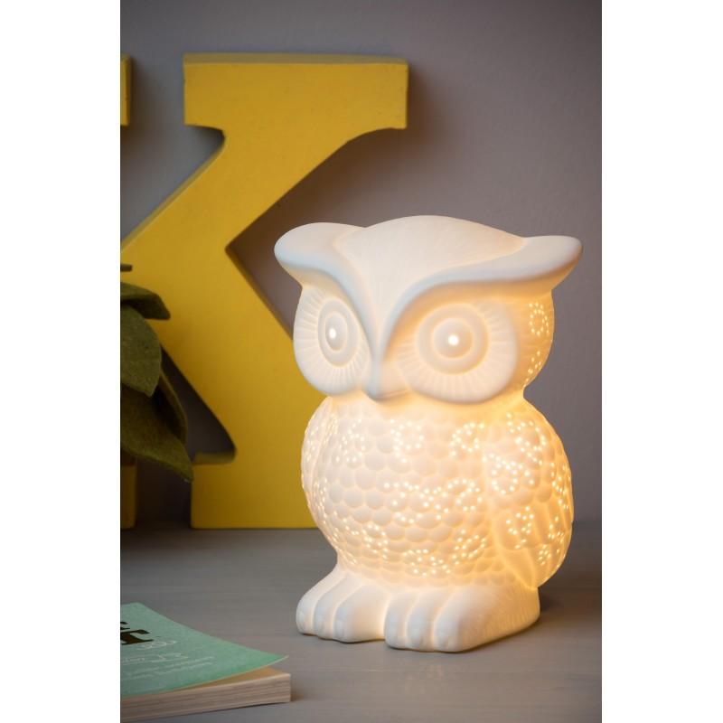 Galda lampa OWL
