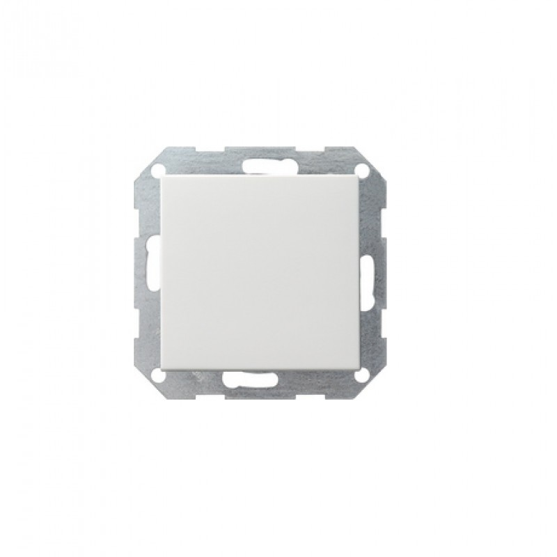 PUSH intermediate switch white, glossy