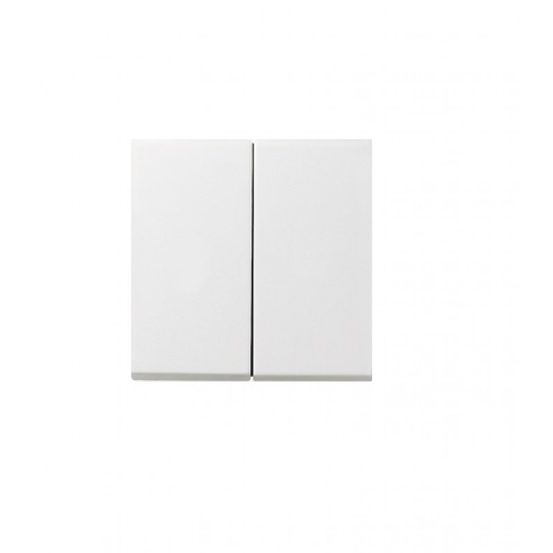 2-way switch white, glossy F100