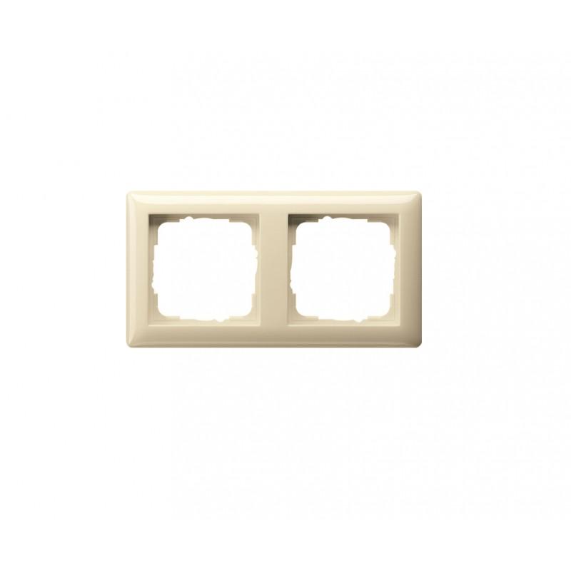 Frame white, glossy Standart 55