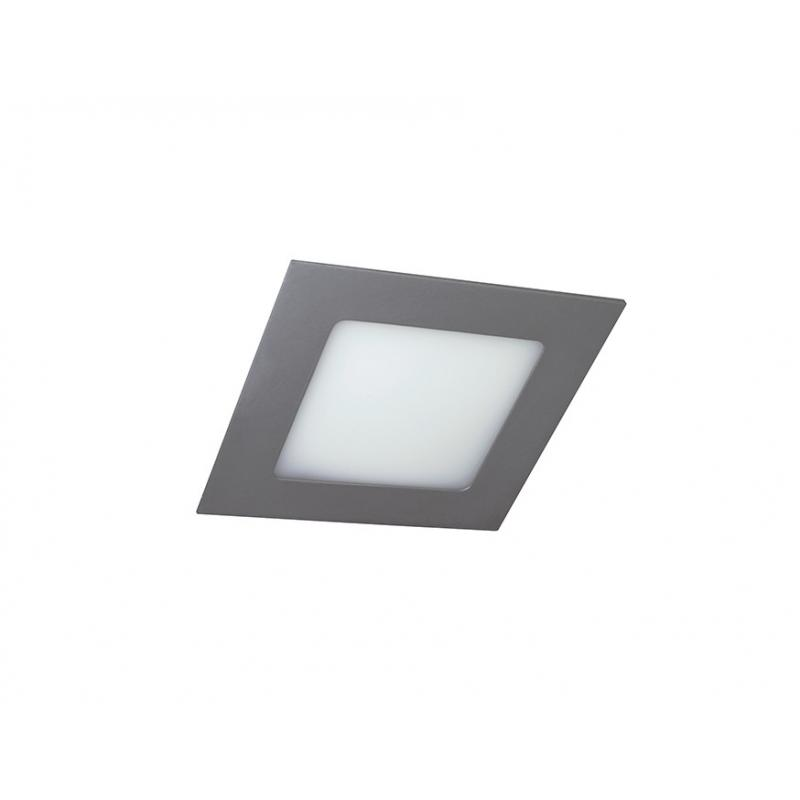 Downlight lamp DISC SQUARE 12 x 12 cm