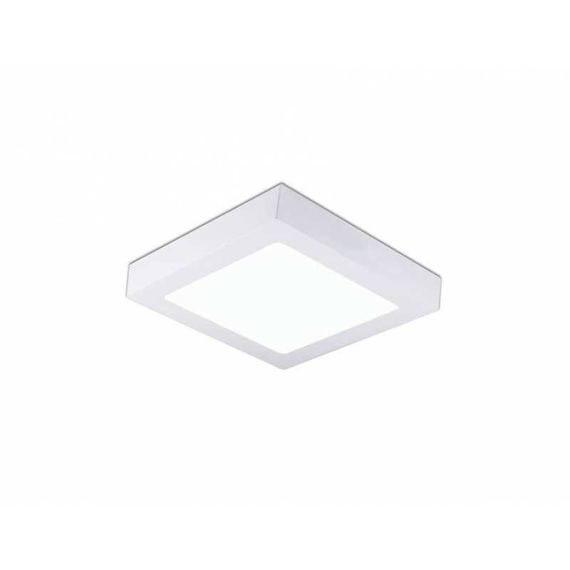 Downlight lamp DISC SQUARE SURFACE 12 x 12 cm