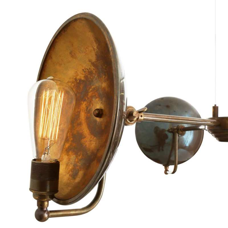 Pendant lamp CULLEN B THREE-ARM