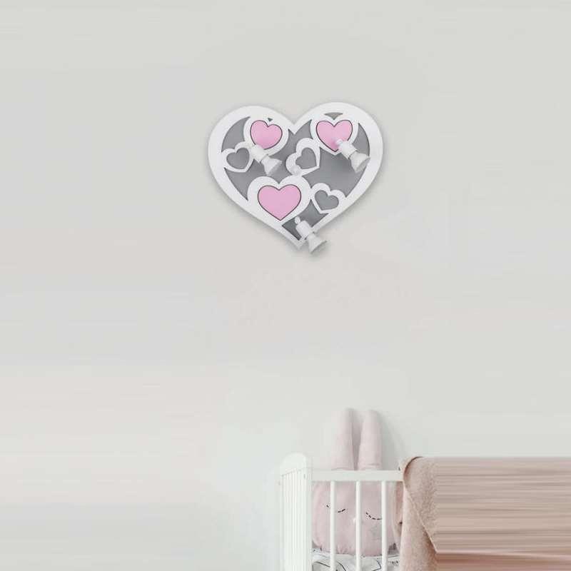 Wall lamp HEART