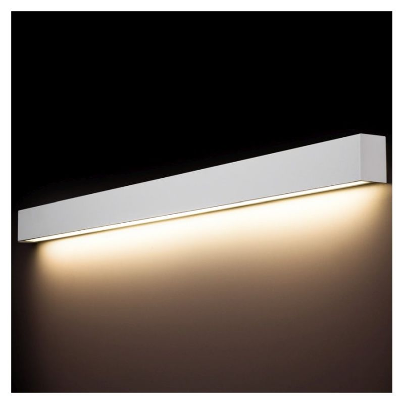 Wall lamp STRAIGHT LED WALL L WH