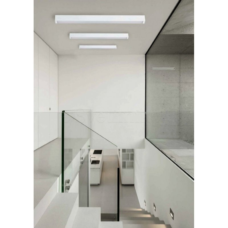 Ceiling lamp STRAIGHT LED CEILING S WH