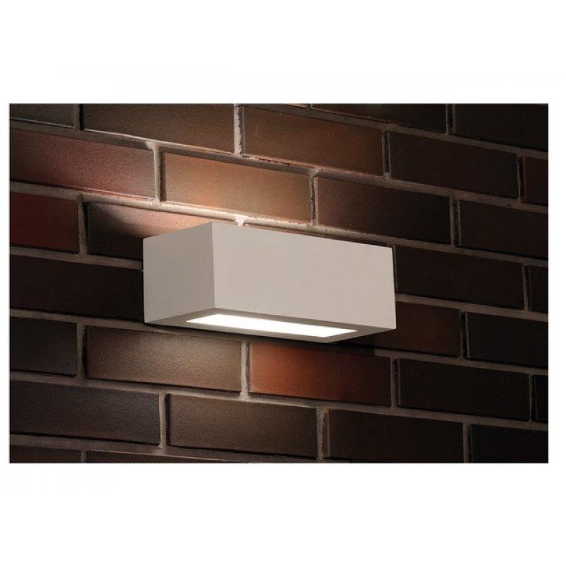 Wall lamp GIPSY PROSTOKAT S