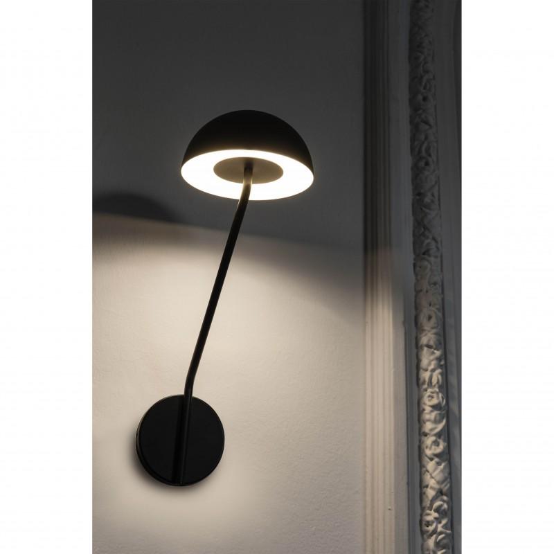Wall lamp PURE LED Black