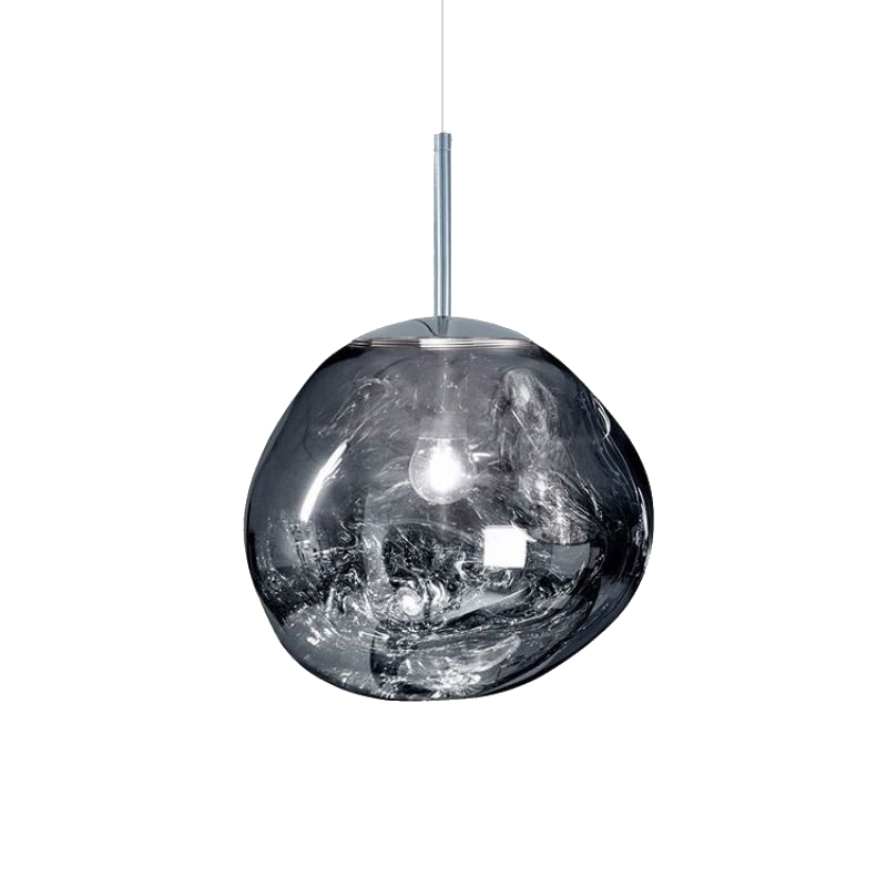 Pendant lamp SK-3101-P1B CH Ø 30 cm