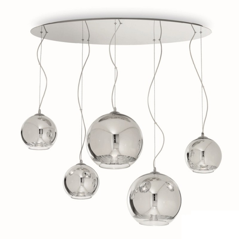 Pendant lamp DISCOVERY CROMO SP5
