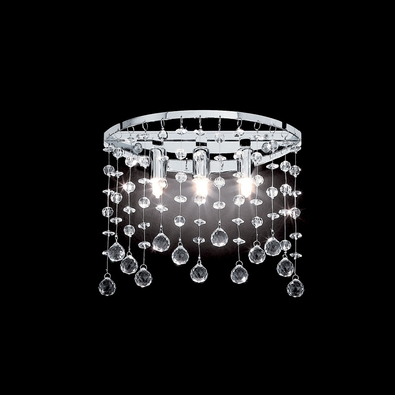 Wall lamp MOONLIGHT AP3 Chrome