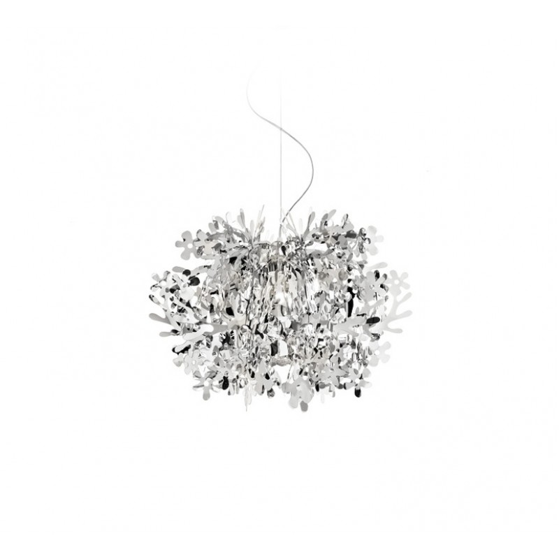 Pendant lamp FIORELLA MINI SUSPENSION SILVER