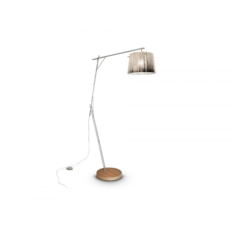 Floor lamp WOODY FLOOR LAMP WHITE